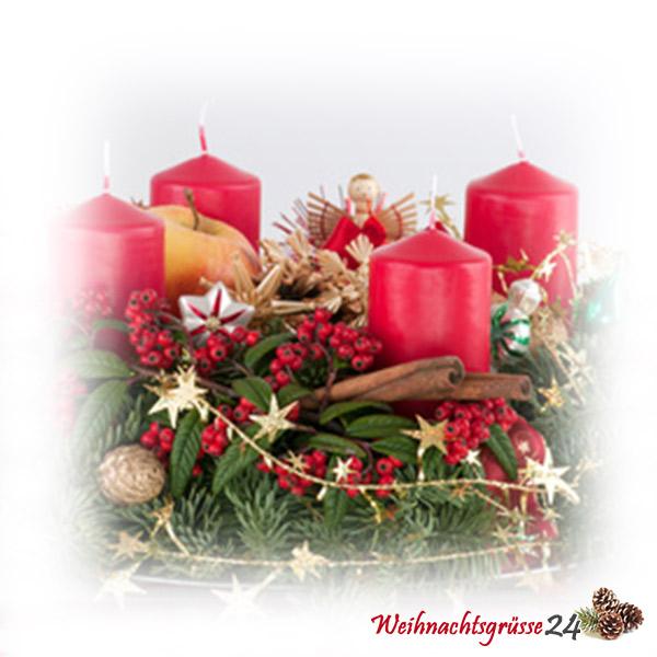Adventsgestecke und kr nze einfach selber basteln for Adventsgestecke bilder